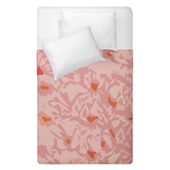 Pink Crochet Duvet Cover Double Side (single Size)