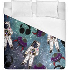 Astronaut Space Galaxy Duvet Cover (king Size) by snowwhitegirl