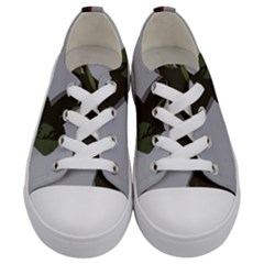 Red Rose Kids  Low Top Canvas Sneakers