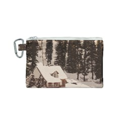 Cottage Canvas Cosmetic Bag (small) by snowwhitegirl