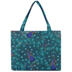 Peacocks Mini Tote Bag