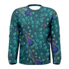Peacocks Men s Long Sleeve Tee