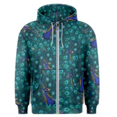 Peacocks Men s Zipper Hoodie