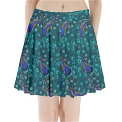 Peacocks Pleated Mini Skirt