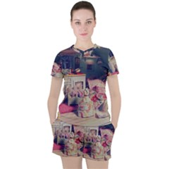 Caravan Women s Tee And Shorts Set
