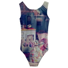 Caravan Kids  Cut Out Back One Piece Swimsuit
