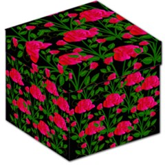 Roses At Night Storage Stool 12