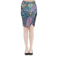 Magic Midi Wrap Pencil Skirt