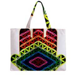Hamsa Of God Medium Tote Bag by CruxMagic
