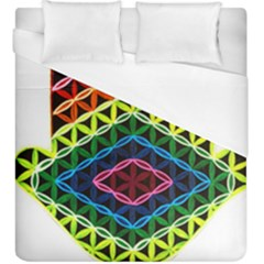 Hamsa Duvet Cover (king Size) by CruxMagic