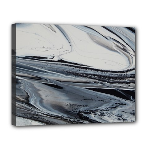 Space Drift Canvas 14  X 11  (stretched) by WILLBIRDWELL