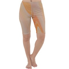 Orange 2 Cropped Leggings