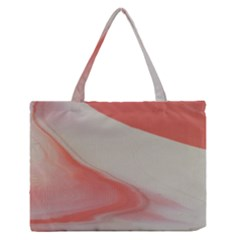 Martian Snow Zipper Medium Tote Bag