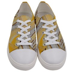Yellow Jungle Women s Low Top Canvas Sneakers