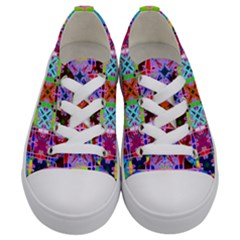 2 Kids  Low Top Canvas Sneakers