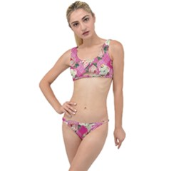 Retro Pets Plaid Pink The Little Details Bikini Set