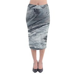 Edge Of A Black Hole Midi Pencil Skirt