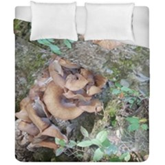 Abstract Of Mushroom Duvet Cover Double Side (california King Size) by canvasngiftshop