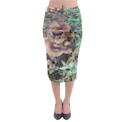 Abstract Of Mushroom Midi Pencil Skirt by canvasngiftshop