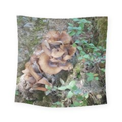 Abstract Of Mushroom Square Tapestry (small) by canvasngiftshop