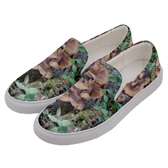 Abstract Of Mushroom Men s Canvas Slip Ons by canvasngiftshop