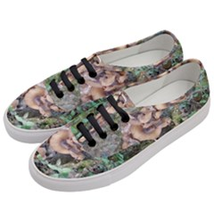Abstract Of Mushroom Women s Classic Low Top Sneakers by canvasngiftshop