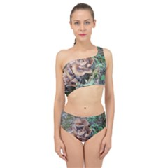 Abstract Of Mushroom Spliced Up Two Piece Swimsuit by canvasngiftshop