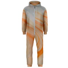 Orange And Blue 2 Hooded Jumpsuit (men)