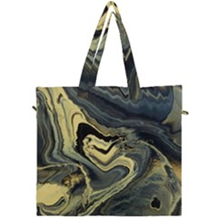 Yellow Nebula Canvas Travel Bag by WILLBIRDWELL