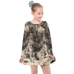 Orchid Kids  Long Sleeve Dress by WILLBIRDWELL