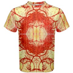 Seamless Red And Gold By Flipstylez Designs Men s Cotton Tee