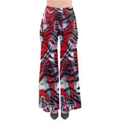 Retro Red Swirl Design By Flipstylez Designs So Vintage Palazzo Pants