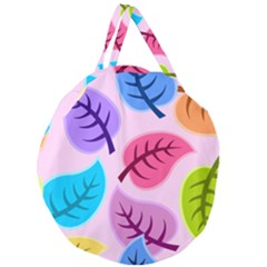 Backdrop Background Beautiful Giant Round Zipper Tote