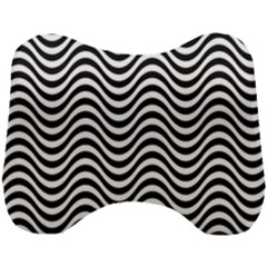 Wave Pattern Wavy Water Seamless Head Support Cushion