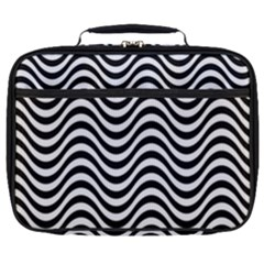 Wave Pattern Wavy Water Seamless Full Print Lunch Bag