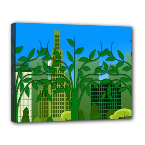 Environmental Protection Canvas 14  X 11  (stretched)
