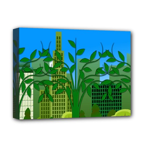 Environmental Protection Deluxe Canvas 16  X 12  (stretched)