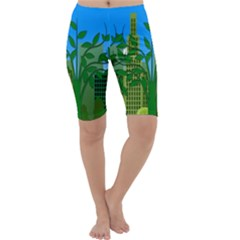 Environmental Protection Cropped Leggings