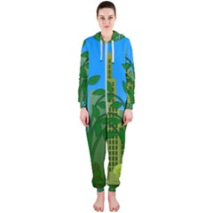 Environmental Protection Hooded Jumpsuit (ladies)