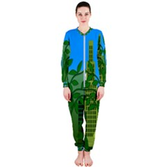 Environmental Protection Onepiece Jumpsuit (ladies)