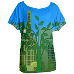 Environmental Protection Women s Oversized Tee
