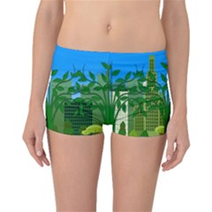 Environmental Protection Boyleg Bikini Bottoms