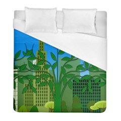 Environmental Protection Duvet Cover (full/ Double Size)