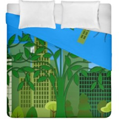 Environmental Protection Duvet Cover Double Side (king Size)