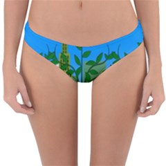 Environmental Protection Reversible Hipster Bikini Bottoms