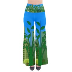 Environmental Protection So Vintage Palazzo Pants