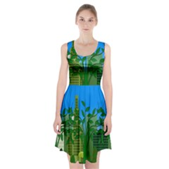 Environmental Protection Racerback Midi Dress