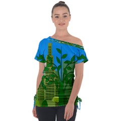 Environmental Protection Tie Up Tee