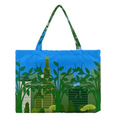 Environmental Protection Medium Tote Bag