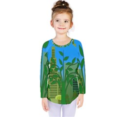 Environmental Protection Kids  Long Sleeve Tee